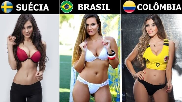 As mulheres mais bonitas e charmosas do mundo